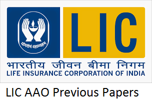 LIC AAO Previous Papers PDF