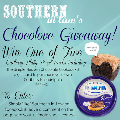 Cadbury Philadelphia Giveaway