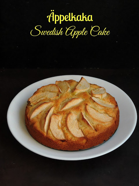 Äppelkaka, Swedish Apple Cake, Apple Cake