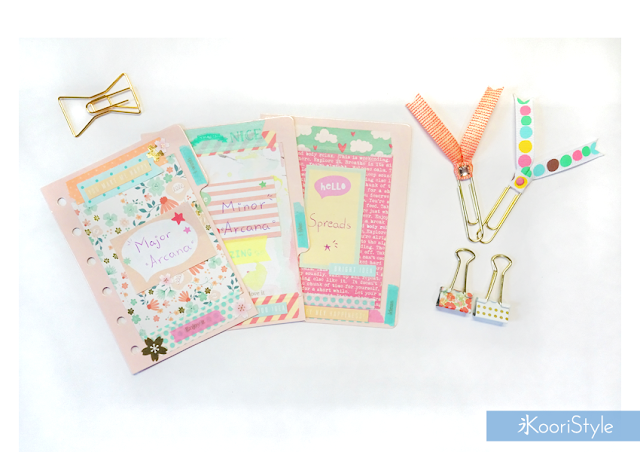 Tarot, Kawaii, Cute, Koori Style, Koori Style, Koori, Style, Planner, Planning, Stationery, Deco, Decoration, Time Planner, Kikki K, Filofax, Washi, Deco, Tape, Journal, Agenda, Stickers, Plan With Me, Set Up, 和紙テープ, プランナー, 플래너