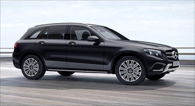 Ngoại thất Mercedes GLC 250 4MATIC 2019 thiết kế thể thao mạnh mẽ