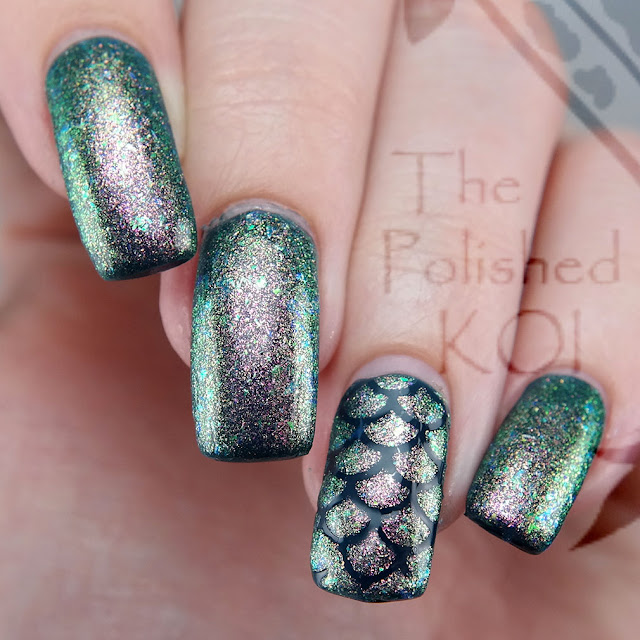 Bee's Knees Lacquer Changeling over Nightflyers