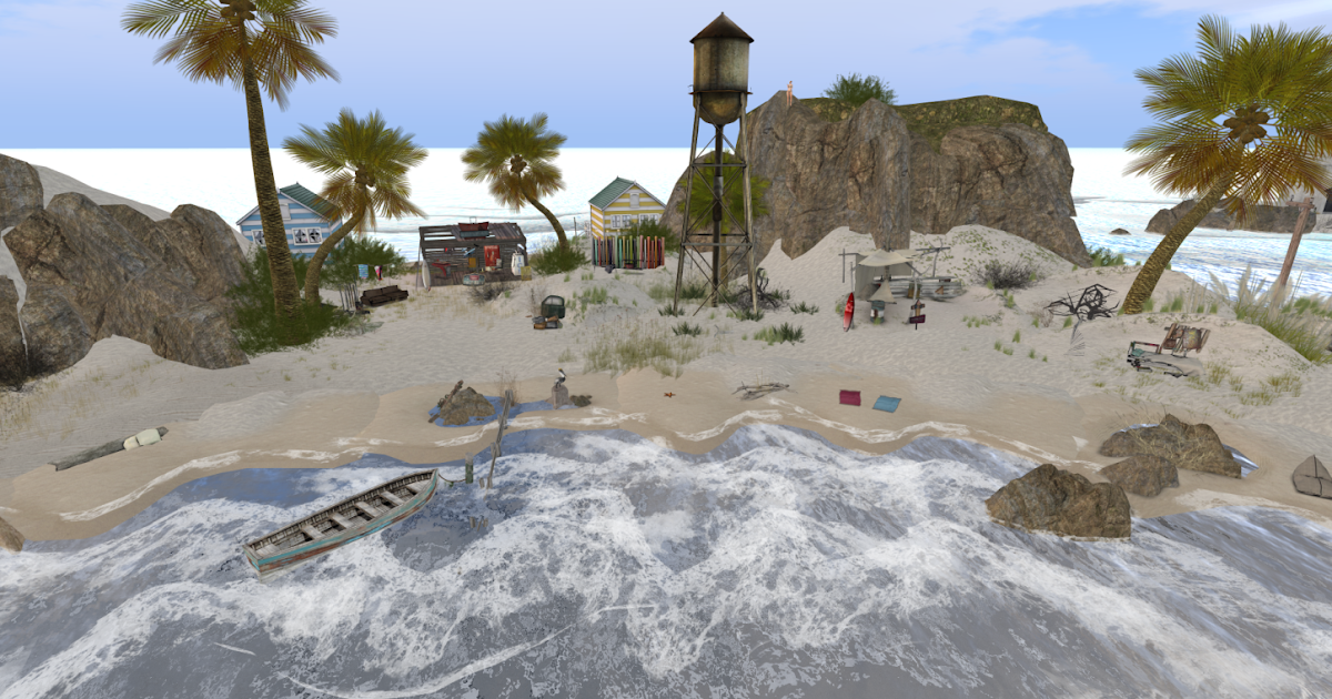 Best Beaches for Summer in Second Life ...