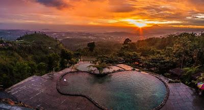 21 Tempat Wisata Pemandian Alam Pemandian Air Panas Air Terjun Danau Di Sekitar Dekat Kota Semarang Jawa Tengah