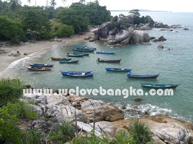 foto tour Objek Wisata Pantai Turun Aben Bangka