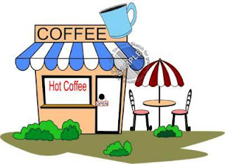 coffee corner color clipart