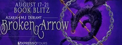 Book Showcase: Broken Arrow by Azaria M.J. Durant. Includes giveaway!