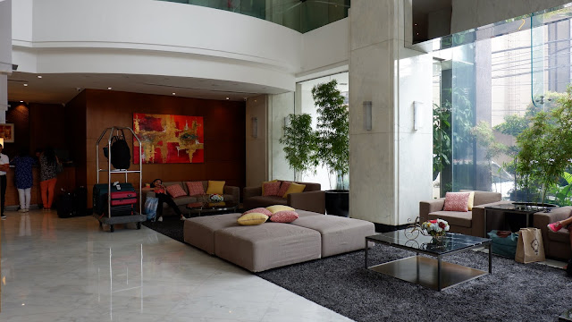 lobby of city garden hotel