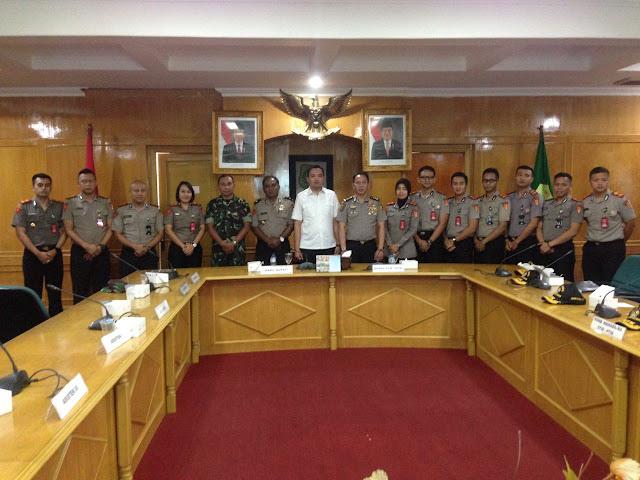 Pemkab Muba Sambut Mahasiswa STIK-PTIK Angkatan Ke- 72