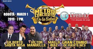 METRO CONCIERTO DE LA SALSA 2019