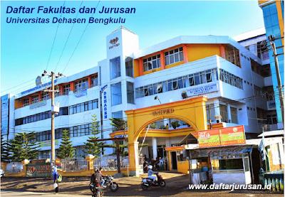 Daftar Fakultas dan Jurusan UNIVED Universitas Dehasen Bengkulu