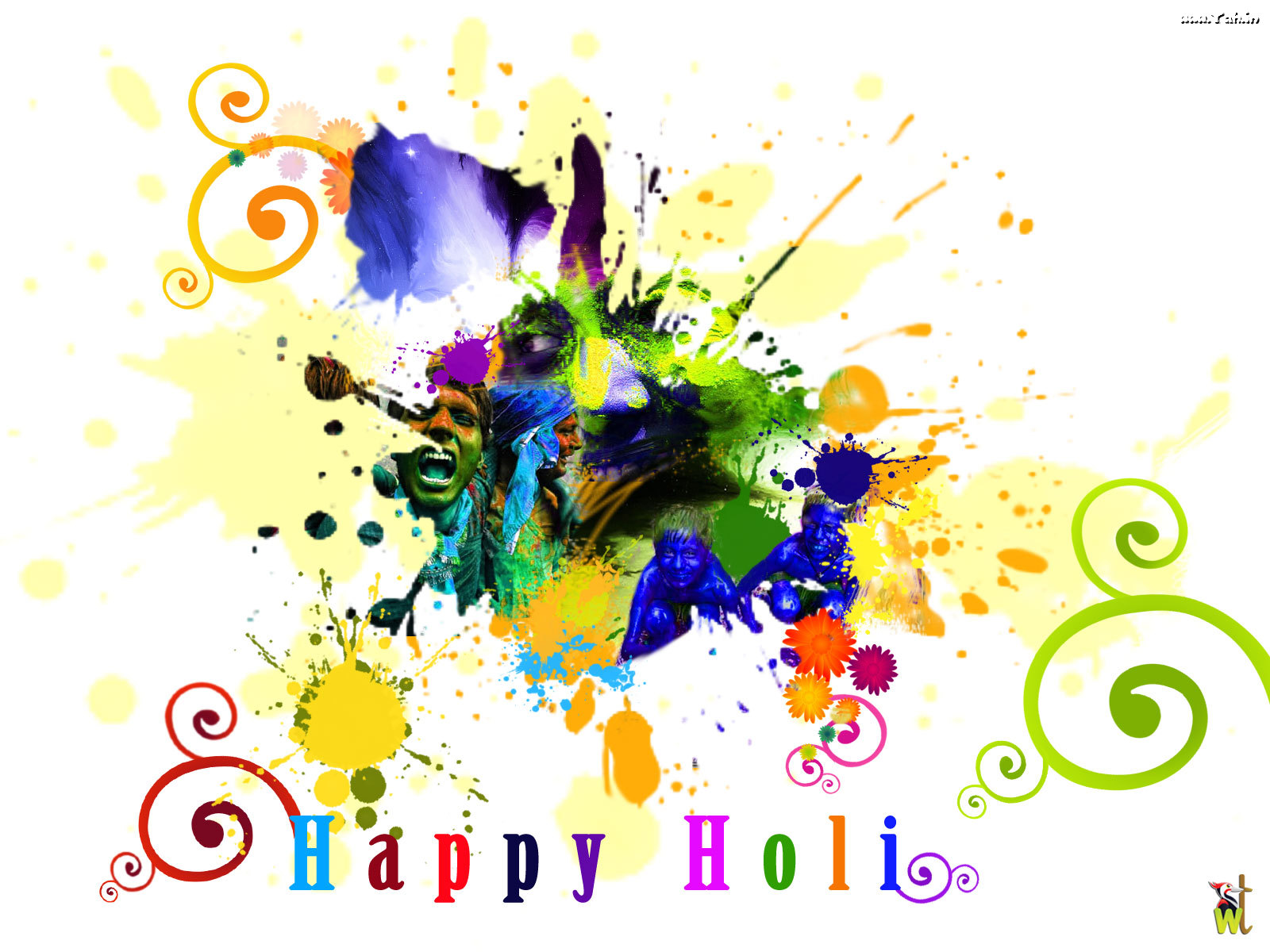 Happy Holi Photos 2017