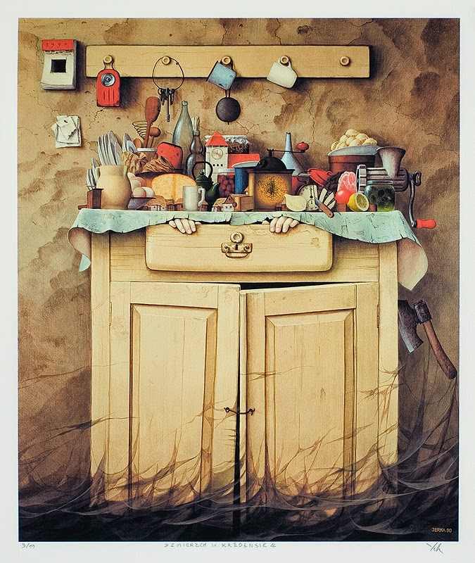 Messy Kitchen Drawing: Creative Art & Artworks: Drawing Of A Messy Kitchen