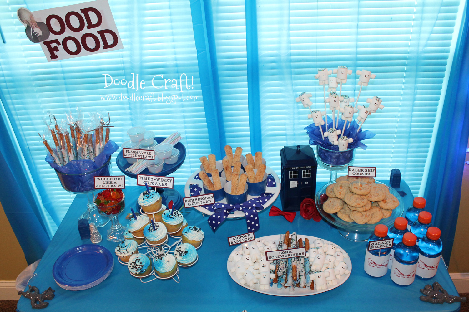 Doctor Who Party Week Food Snacks Recipes And Treats