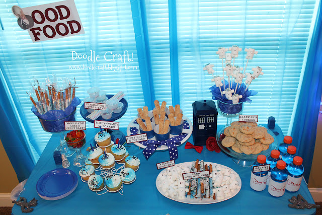 Parties Crafts And Cake Decor Boksburg : Doodlecraft: Hello Sweetie Doctor Who Inspired Cake Topper ...