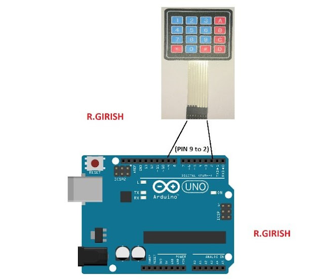 interfacing keypad with Arduino