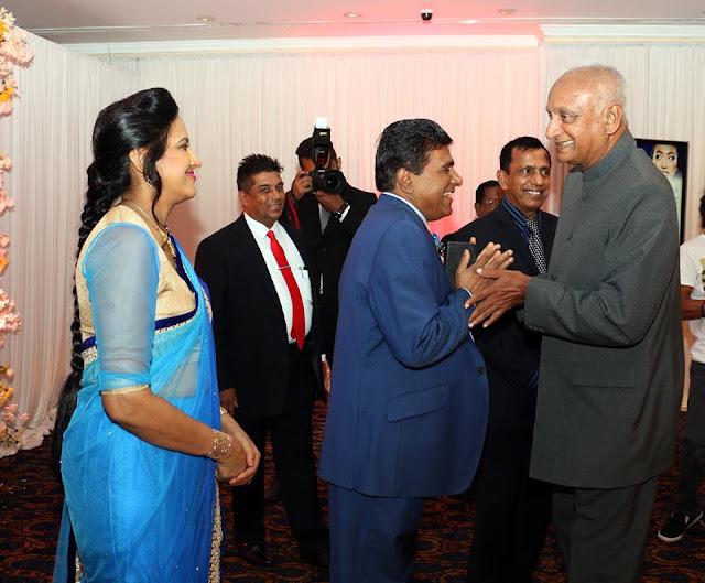 Wijeyadasa Rajapakshe's son Rakitha's Home coming