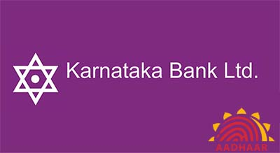 How to Link Aadhaar with Karnataka Bank Account