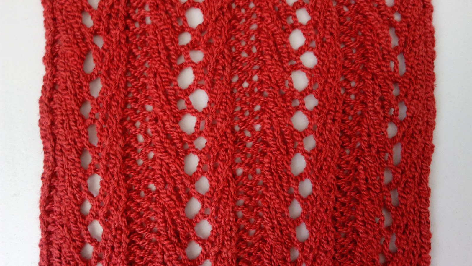 Lace Stripes - Knitting Stitch