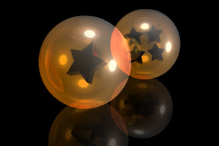 dragon ball balls bola de dragon bola de drac boles 1 estrella 4 estrellas 3d cinema4d photoshop