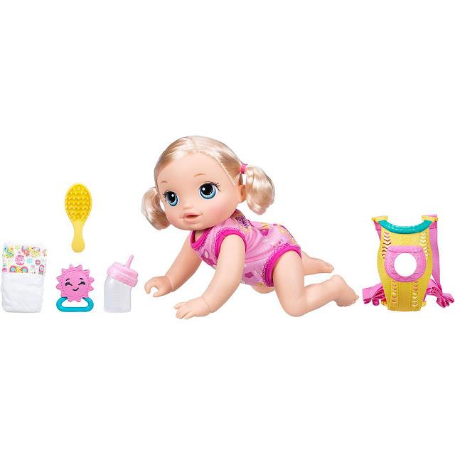 Boneca Baby Alive Hora Passeio Loira