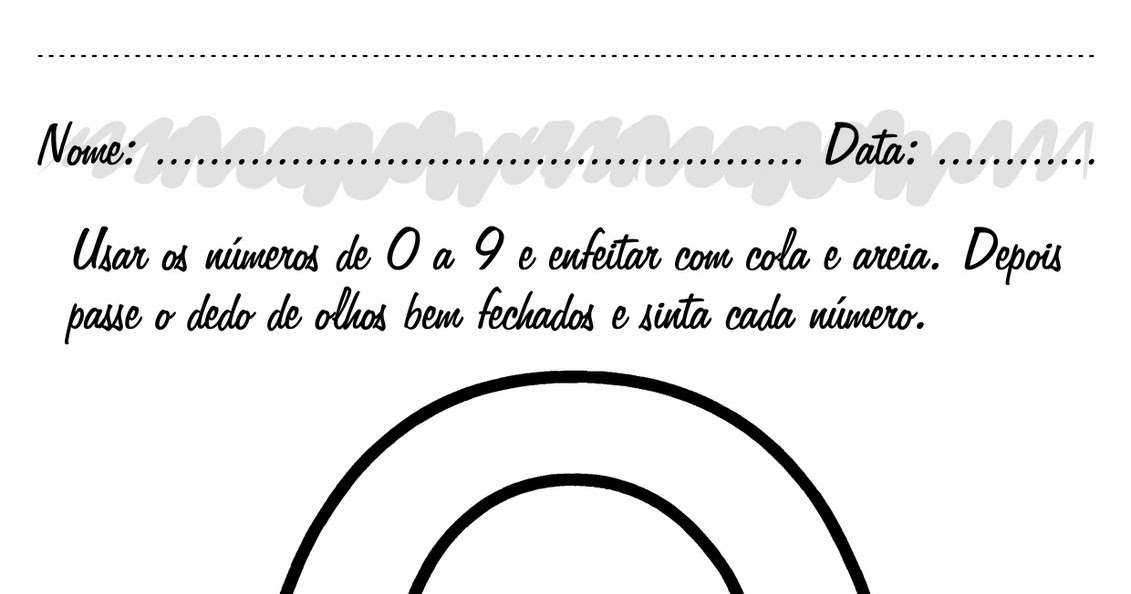 clube da cor atividades escolares atividades com o nÚmero zero