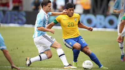 Horário do Jogo  Brasil e Argentina 09 de Junho 09-06-2017