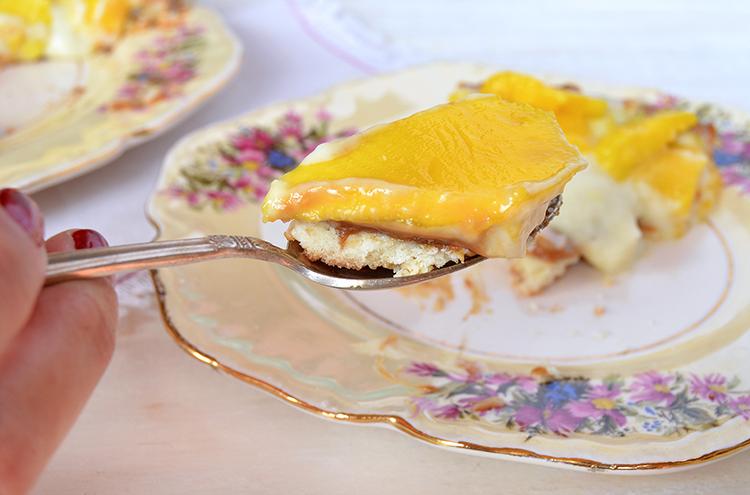 Tarta de mango
