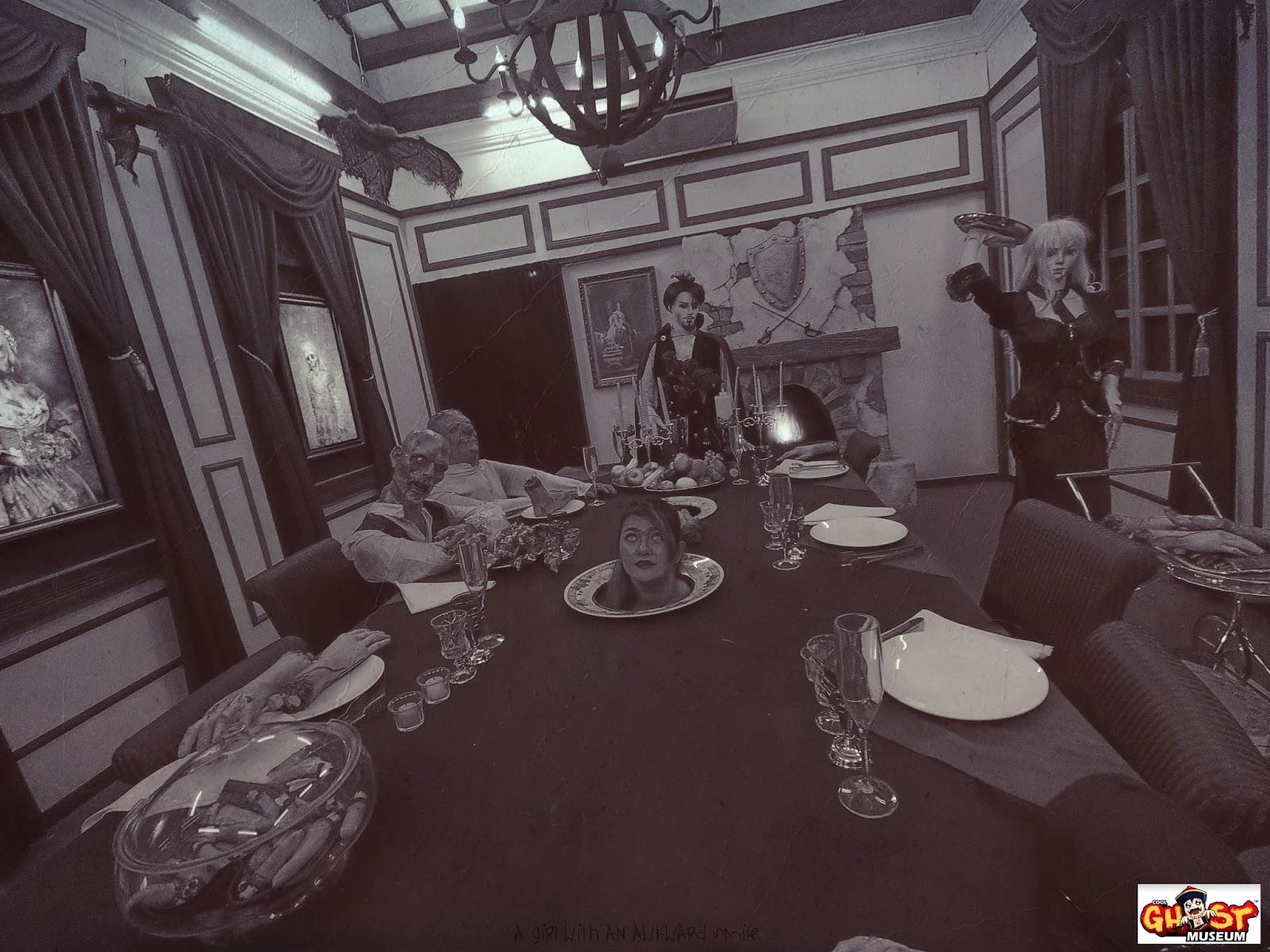 Ghost Museum @Penang : Vampire House