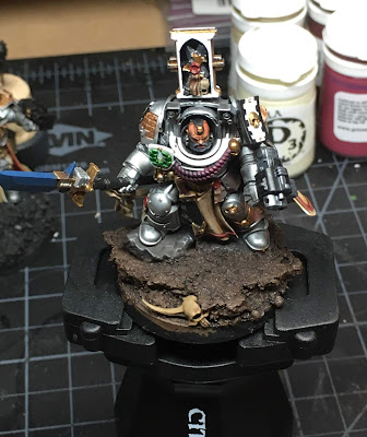 Grey Knights Brother Captain WIP