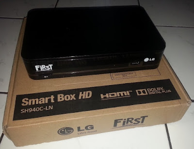 bentuk X1 Smart Box dan ukuran
