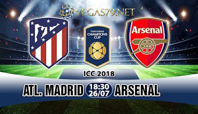 Nhận định bóng đá Atletico Madrid vs Arsenal, 18h30 ngày 26/7