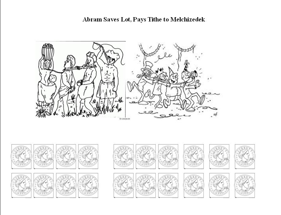 BIBLE CRAFTS FOR KIDS: Abram Saves Lot