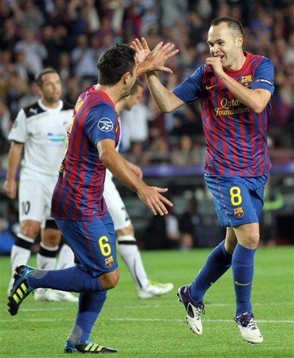Yiğit Yılmaz Barcelona 2 Viktoria Plzen 0