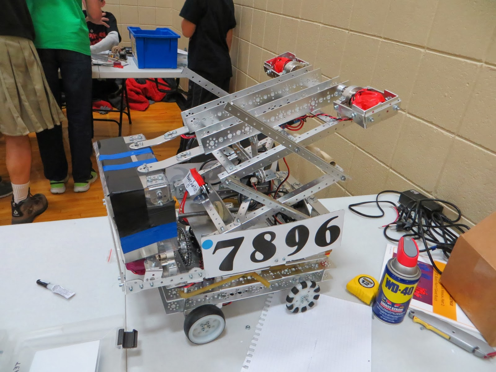 Todd Swank: FTC Robotics Tournament at Lakeville Middle School