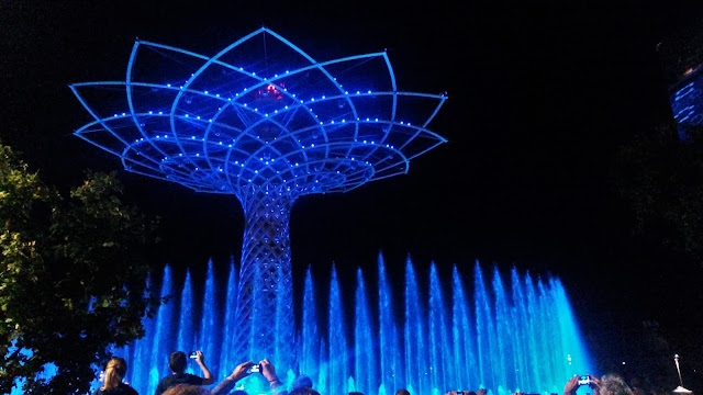 expo milano 2015 albero della vita