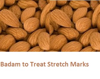 Health Benefits of Almond or Badam to Treat Stretch Marks