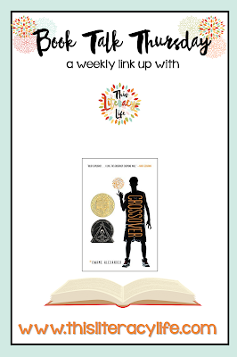 Josh's middle school life changes over the course of one basketball season. Written in free verse, this book tells a beautiful story!