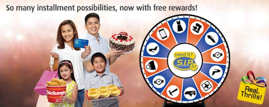 BPI Credit Card: Free rewards and Get freebies From Jollibee or Red Ribbon!