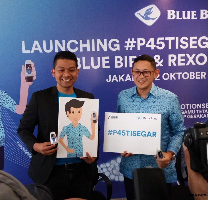 Launching P45TISEGAR Blue Bird dan Unilever