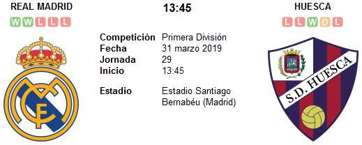 Real Madrid vs Huesca en VIVO