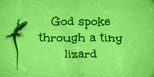 Lizards and Kings - Proverbs 30:28, Hebrews 10:19-23