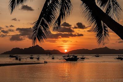 Sunset-Bacuit-Corong-Corong-El-Nido-Palawan-Philippines