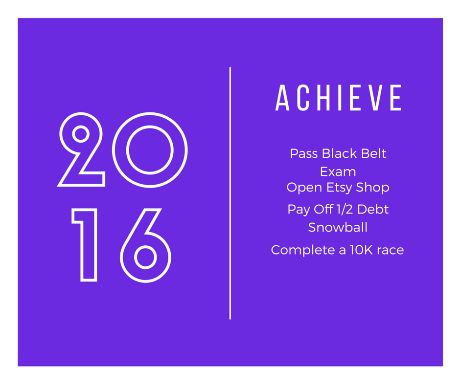 Achieve 2016: Goals for the Year [High-Heeled Love]