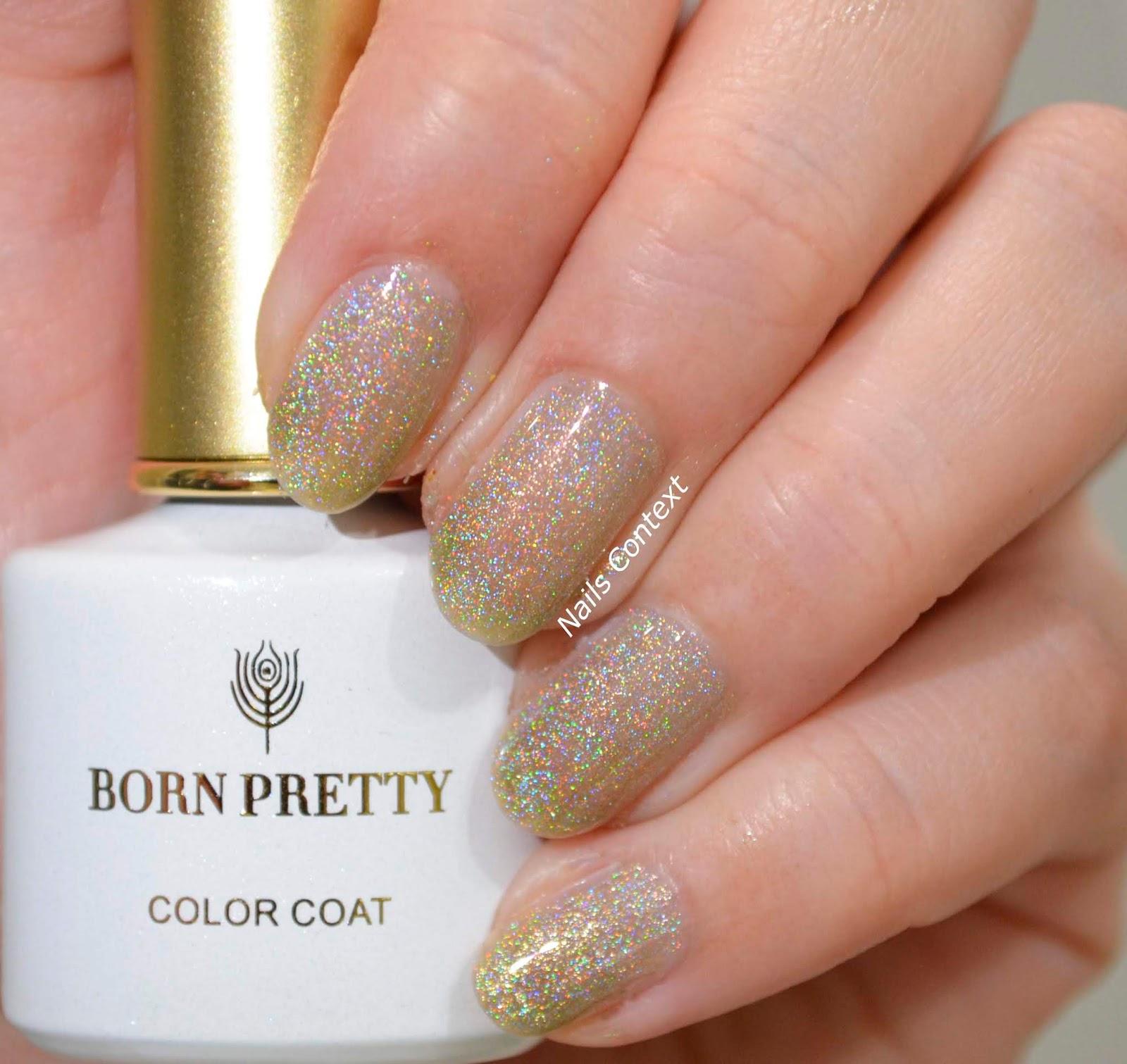Nails Context: Born Pretty Store   Holographic Shimmer Nail Polish