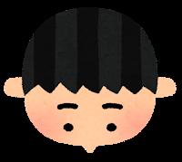薄毛のイラスト1