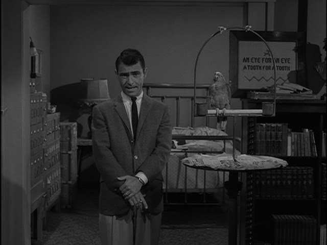 the images of evil in the twilight zone by rod serling Learn about rod serling including past  rod serling is best remembered for his groundbreaking sci-fi television anthology series the twilight zone (1959-1965  new 'mortal engines' trailer reveals evil hugo weaving.