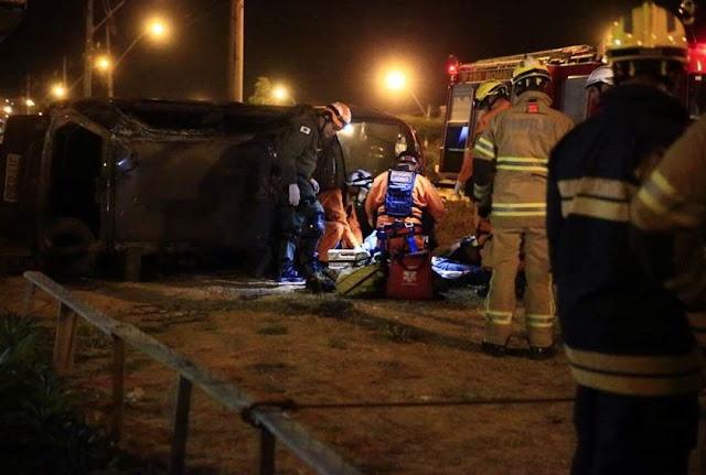 Motorista de 43 anos morre após capotagem no Pró-DF