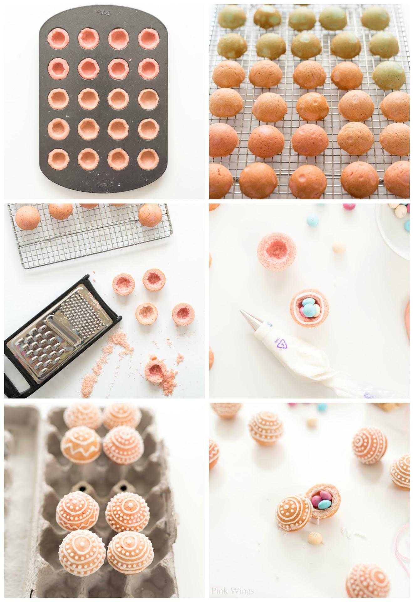 how to make pinata cookies, filled cookies, tutorial, best sugar cookies, easter dessert ideas,