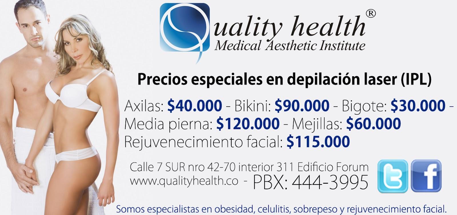 Quality Health 174 Precios Especiales En Depilaci 211 N L 193 Ser Y